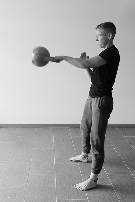 Il one-arm swing